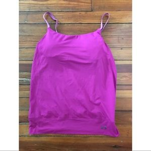 Under Armour tank with built-in bra